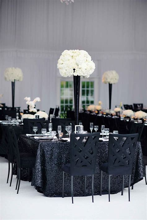 white centerpiece best 25 black and white centerpieces ideas on