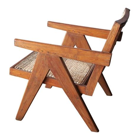 easy armchair by jeanneret at 1stdibs