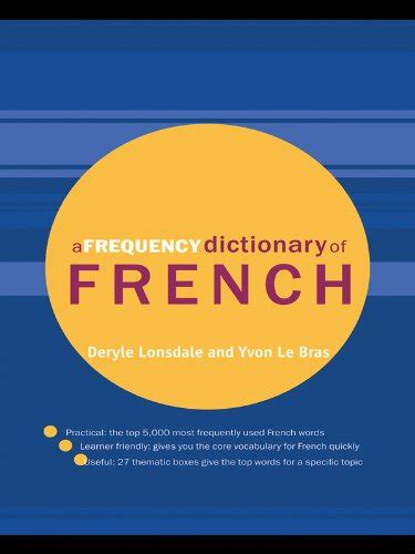 a frequency dictionary of vocabulary for learners routledge frequency dictionaries and edition books read a frequency dictionary of
