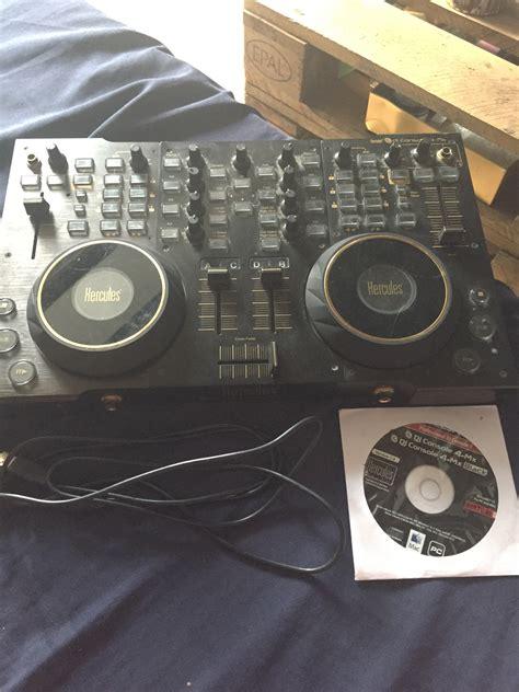 hercules dj console 4 mx dj controller dj console 4 mx hercules dj console 4 mx audiofanzine