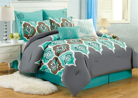 queen size comforter set the awesome color of turquoise bedding sets queen tedx