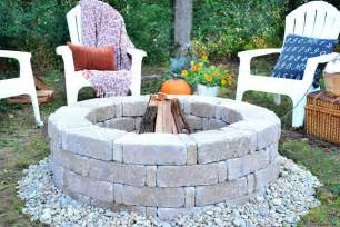 Stacked Stone Fire Pit How To Build A Fire Pit Hgtv