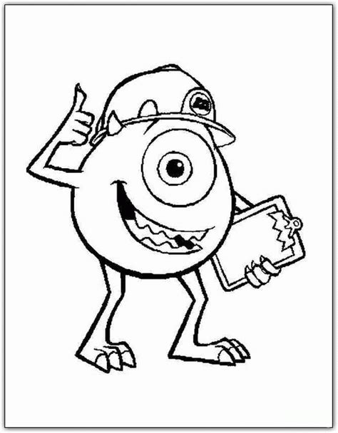 monsters inc coloring pages coloringpagesabc com