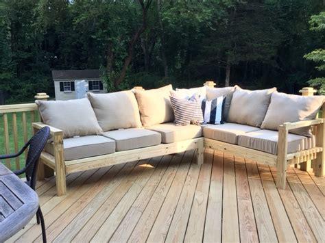 outdoor sofa   arm piece   sectional ana white