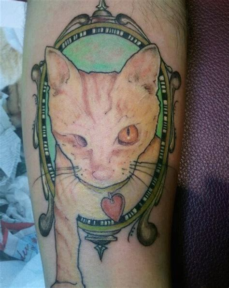 tattoo cat in frame framed dead cat tattoo 171 inked inspiration a collection