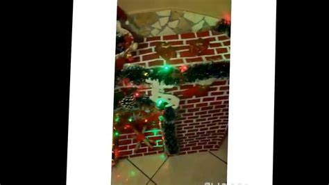 camino natalizio camino natalizio fai da te