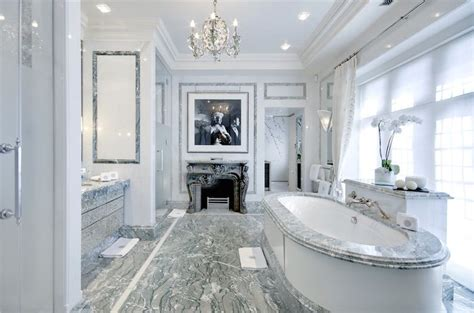 luxurious marble bathroom design ideas roundecor