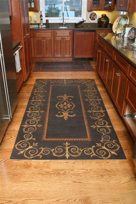 25  best ideas about Painted Floor Cloths on Pinterest