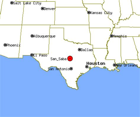 san saba texas map san saba profile san saba tx population crime map