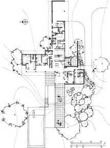 Kaufmann House Floor Plan Richard Neutra Archigraphie