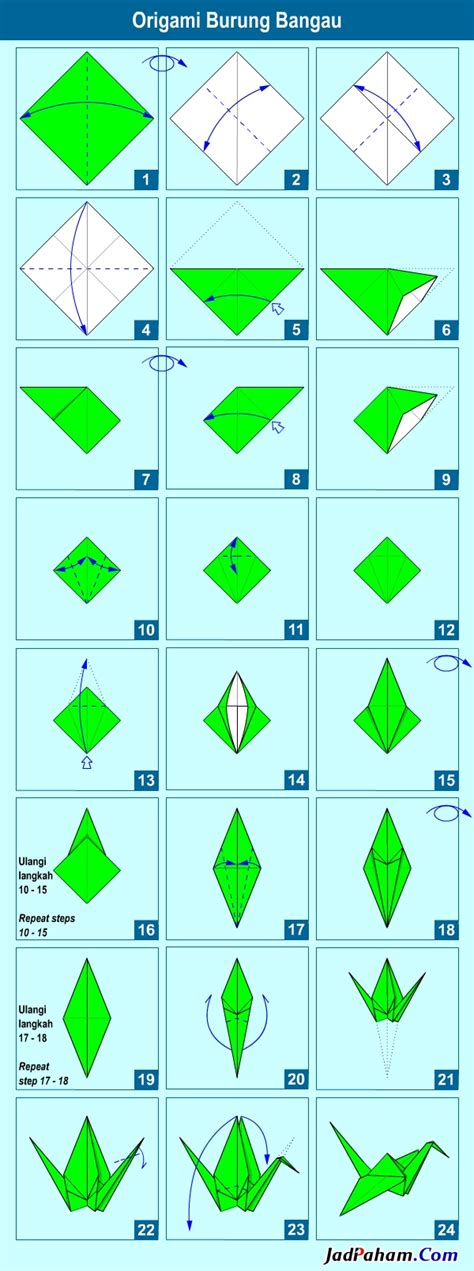 tutorial origami burung kertas diy 11 cara membuat origami burung gt do it yourself