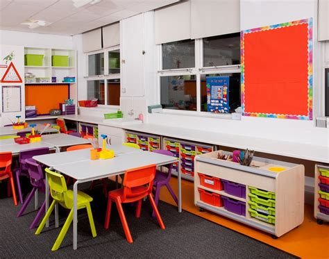 classroom refurbishment at roe park primary school