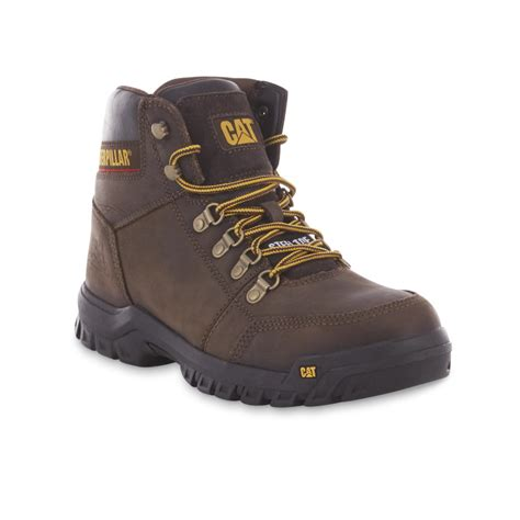 cat boots for cat footwear s outline 6 quot steel toe work boot p90803