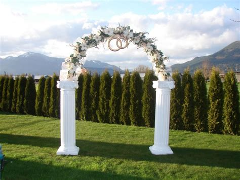 Wedding Arch Used by Simple Guide To Wedding Arch Rental Services Equipment