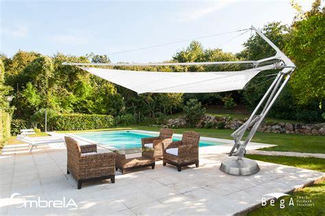 tende a vela avvolgibili ombrela l ombrellone a vela avvolgibile motorizzato di