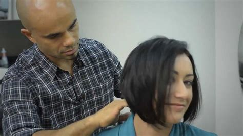 haircut by husband makeover woman 6 youtube