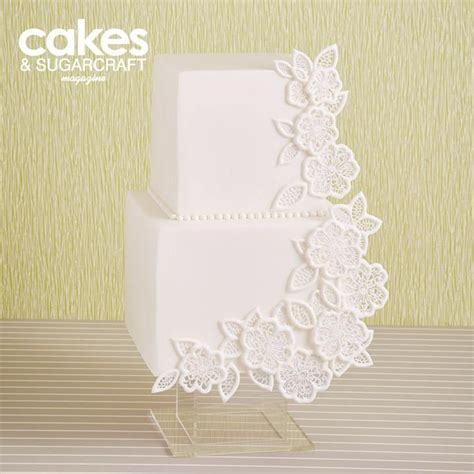 decoupage cake tutorial white decoupage lace cake tutorial with flexi ice edible
