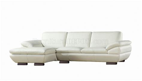 Prestige Sectional Sofa By Beverly Hills In Full Leather