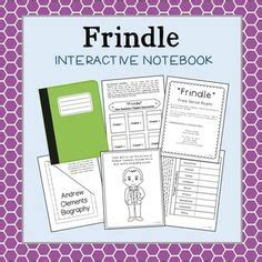 frindle book report frindle lapbook minor character will and story