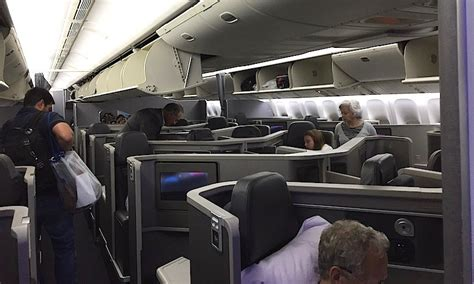 view available seats aa review american s new 777 200 business class jfk to