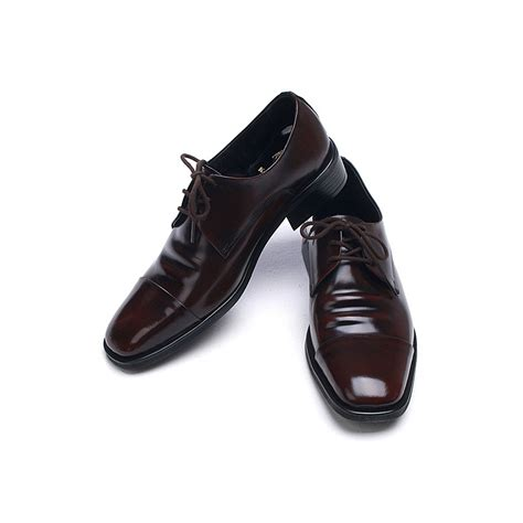 mens tip cow leather oxfords