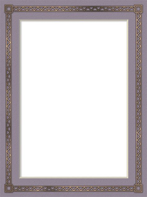 Florida Style by Presentation Photo Frames Tall Rectangle Mat Style 23
