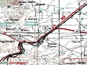 map of kingman arizona kingman az elevation map http www usbeacon arizona
