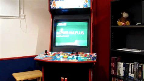 custom arcade cabinet kits my hyperspin custom arcade cabinet youtube