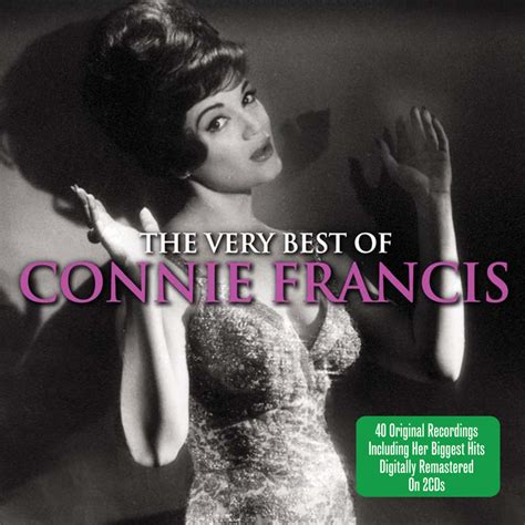 the best of connie francis the best of connie francis