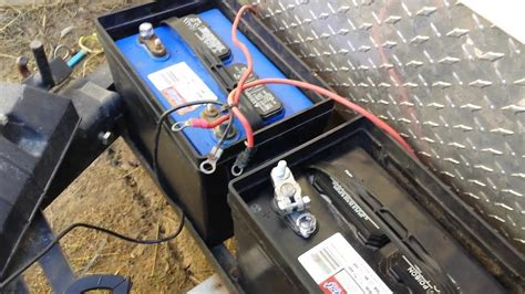 wire  rv batteries youtube