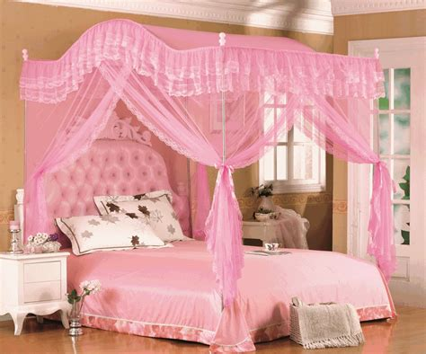 Pink Canopy Bed Stumbleupon Email Kid Bedrooms Pink Bed Bed