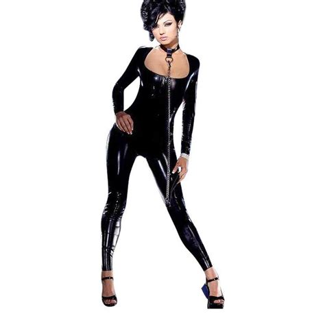 catsuits for women online buy wholesale vinyl catsuit costume from china