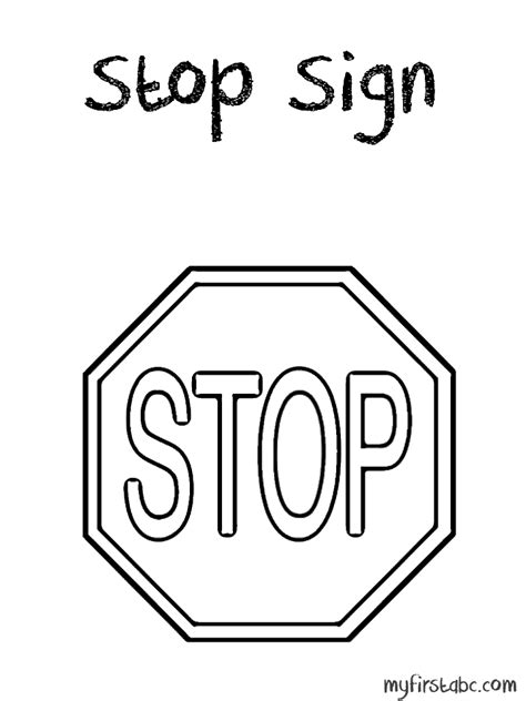 stop sign coloring page stop sign coloring pages coloring home