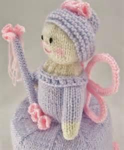 Childrens Cushion Covers Flower Fairy Toilet Roll Holder Knitting Pattern