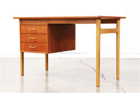 writing desk modern modern writing desk by torben strandgaard vintage