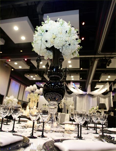 black and white wedding theme arabia weddings