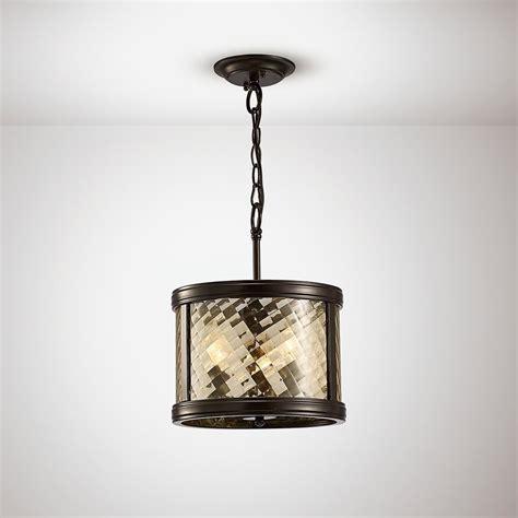 Convertible Pendant Light Diyas Il31676 Asia Pendant Semi Ceiling Convertible Light Bronze Glass
