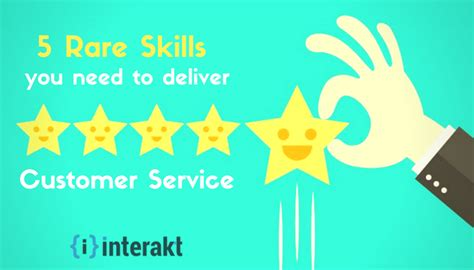 5 customer service skills you need to deliver 5 support