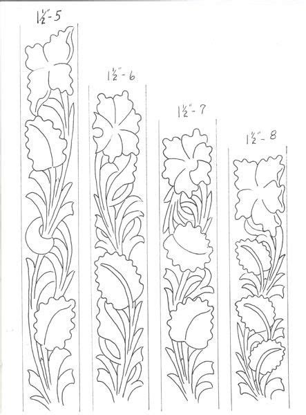 drawing pattern on leather sheridan style leather tooling patterns quotes
