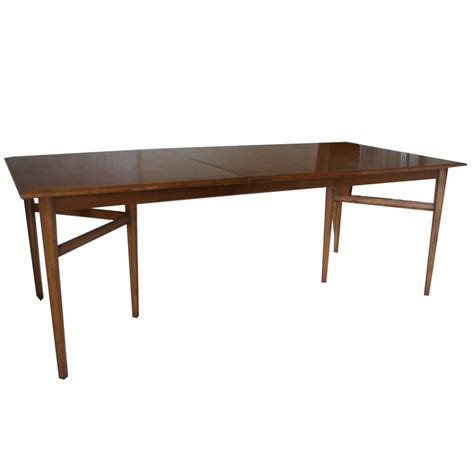 walnut dining table and bench 84 quot vintage heritage extension walnut dining table ebay