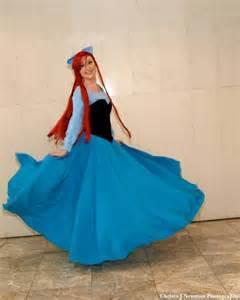 Ariel little mermaid costume blue dress costumes pinterest