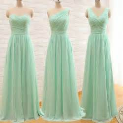 Elegant cheap long mint green long evening dress 2015 party dresses