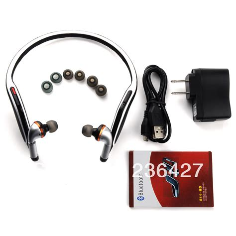 Headset Earphone Bluetooth Iphone T1910 5 sport nfc bluetooth 4 0 headset apt x voice stereo headphone earphone for iphone 4 4s 5