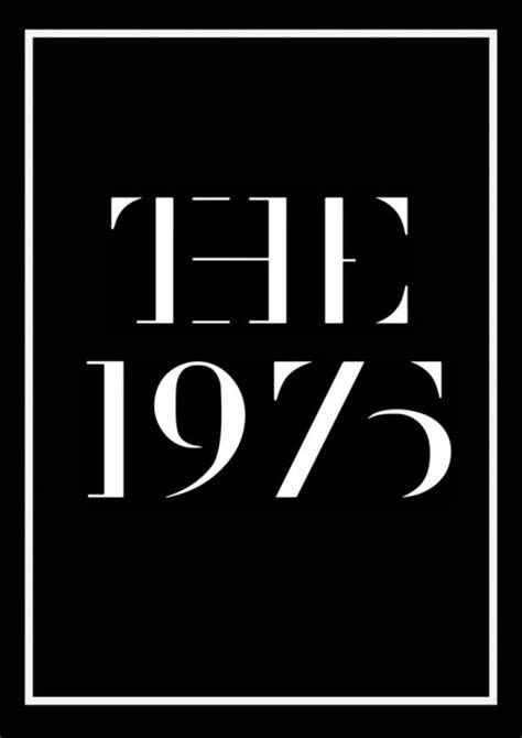 Wall Sticker Lyrics the 1975 logo google search pinteres