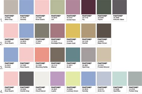 color palette pantone pantone color of the year 2016 flower talk