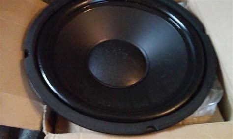 infinity replacement speakers 12 quot woofer new free shipping replacement speaker subwoofer