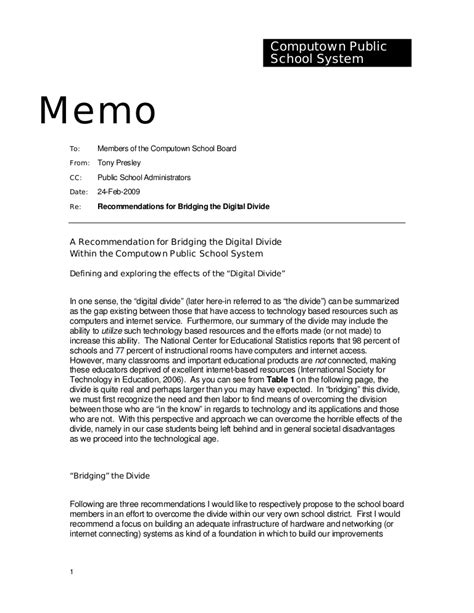 template for writing a memo sle memorandum
