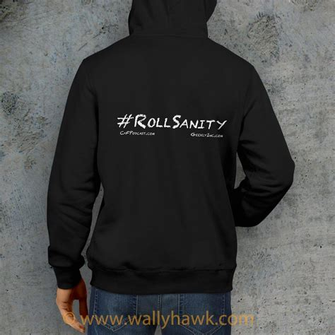 Hoodie Zipper Of Thrones The Fate roll sanity hoodie geekly wallyhawk