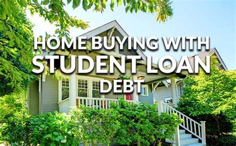 buying a house with student loan debt buying a house with debt update on buying a home with