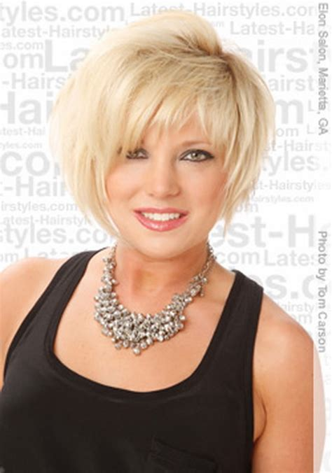 pictures og short hair style for heavy women short haircuts for heavy women